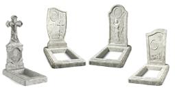 Памятники из искусственного камня